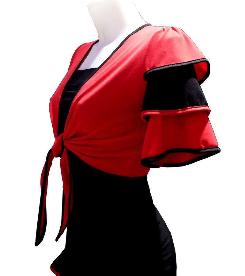 Shrug Bolero dance with sleeves 6-0014