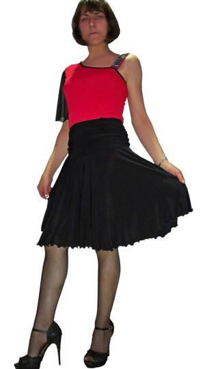 DANCE SKIRT MEZZANA ABOVE THE KNEE A HALF WEEL 2-0015