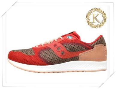 SAUCONY SHADOW 5000 EVR SNEAKERS UOMO DARK RED/DARK KHAKI/ DARK PURPLE/OFF WHITE/PALE BEIGE