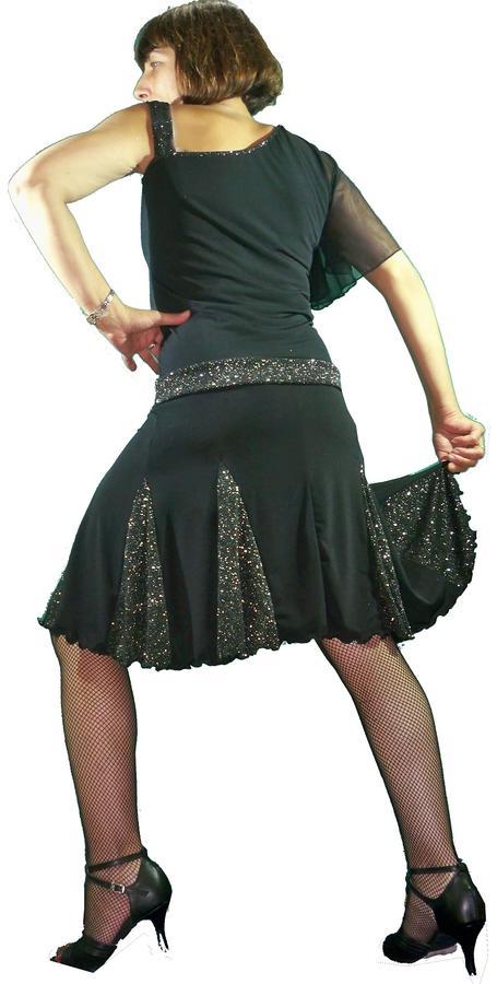 BRILLANT SKIRT FOR DANCE 2-0007