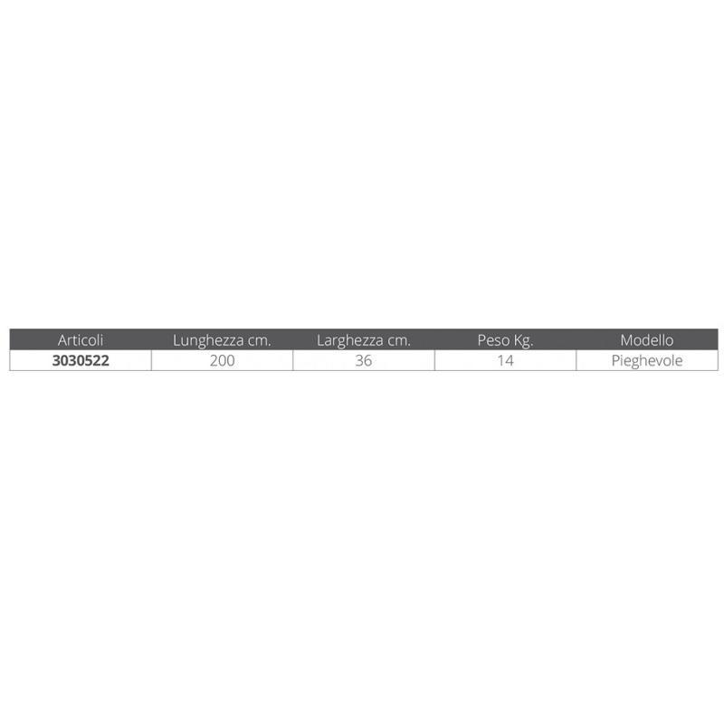Passerella Pieghevole in Alluminio MT. 2 - Offerta di Mondo Nautica 24