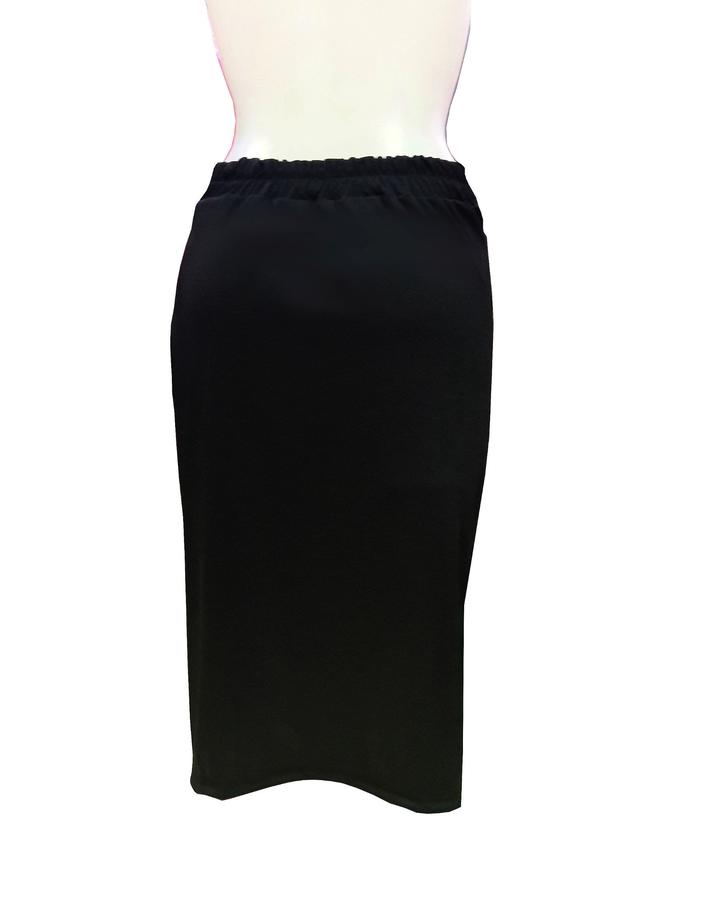 ARGENTINE TANGO SKIRT IN TUBING WITH LATERAL OPENING 2-0032
