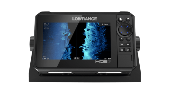 GPS Ecoscandaglio Lowrance HDS 7 Live con Trasduttore 3 in 1 - Offerta di Mondo Nautica 24
