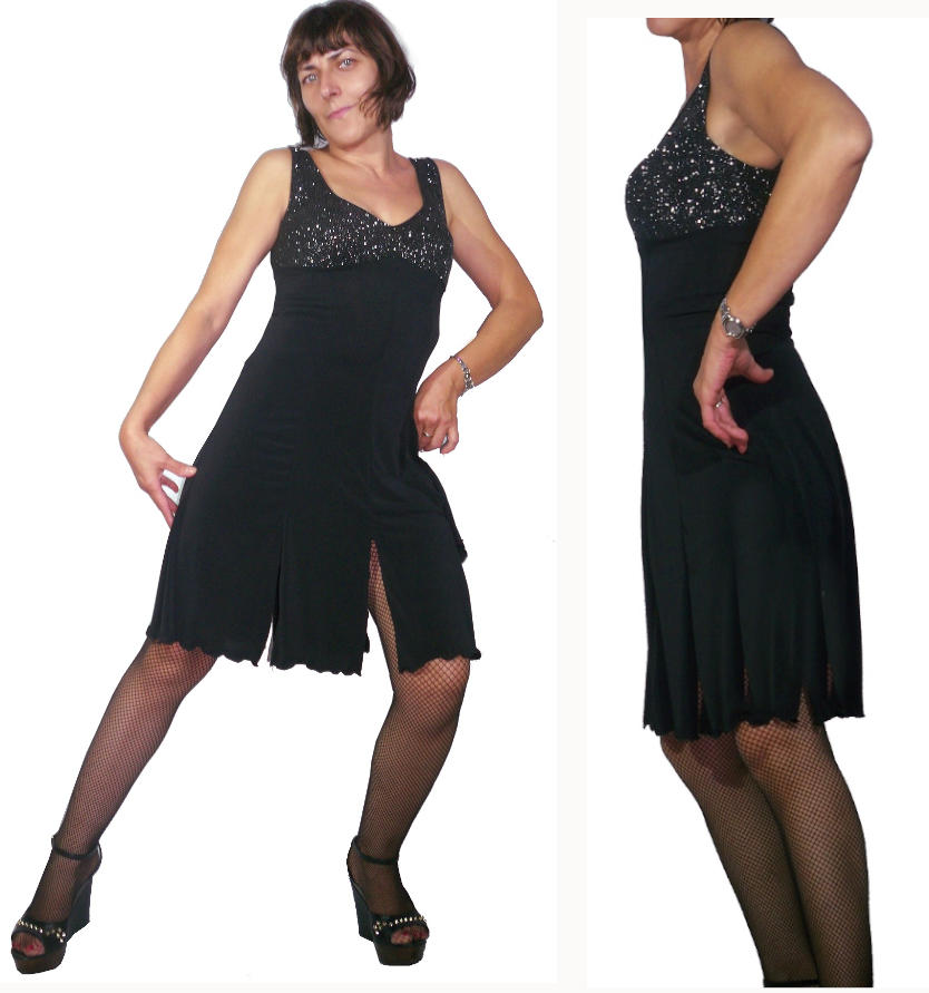 TANGO DRESS WITH SPLIT 4-0009