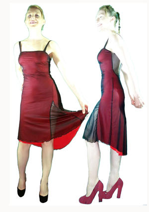 TANGO RED DRESS 4-0010