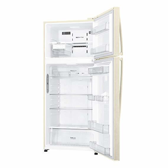 LG frigorifero doppia porta 550lt A++ SABBIA No Frost GTF744SEPZD