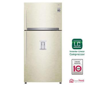 LG frigorifero doppia porta 608lt A+++ SABBIA Wi-Fi GTF925SEPZD