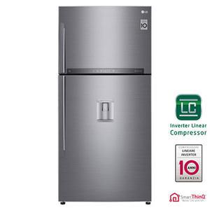 LG frigorifero doppia porta 506lt A++ INOX  Wi-Fi Inverter GTF744PZPZD