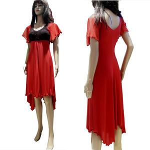 DANCE DRESS SEVEN / LARGE ROUND CUT FRAMEWORK 4-0100