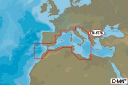 Cartografia C-MAP MAX-N+ W: S.W. EUROPEAN COASTS - Offerta di Mondo Nautica 24