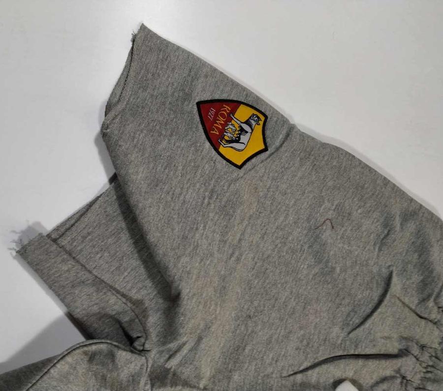 as roma 1927 Completo Free Time Maglia con Pantalone Corto a Taglio Vivo R13469