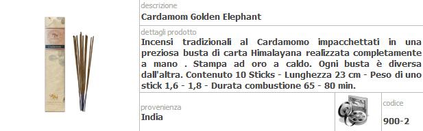 Incensi dell' Elefante Fiore D' Oriente Confezione da 5