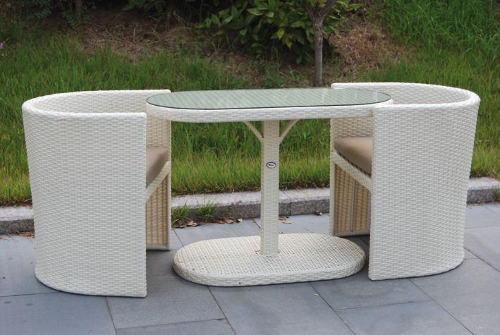 Arredi Per Esterni In Rattan Sintetico.Set Di Tavoli E Sedie Da Esterno Articoli Per Il Giardino E L