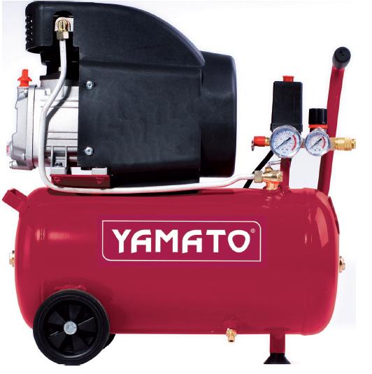 Compressore Yamato Coassiale 2 Hp 1,5 Kw 24 Litri 92847