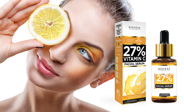 Biovéne Cosmetics siero viso con vitamina C 27%