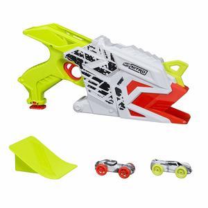 Hasbro E0408 Nerf Nitro Aero Fury Ramp Rage Pistola spara macchine