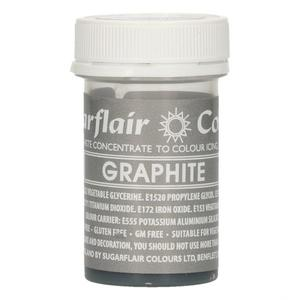 Colorante gel Sugarflair 25 gr grigio grafite