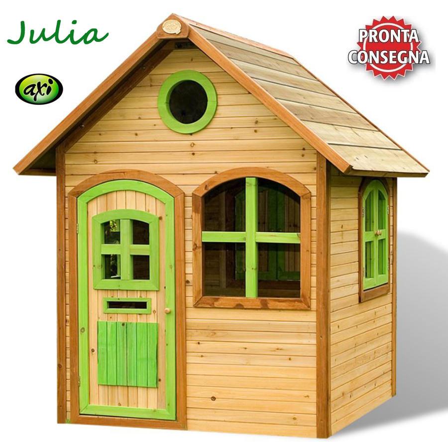 """Casetta per Bambini in Legno di Cedro """"Julia"""" di AXI"""