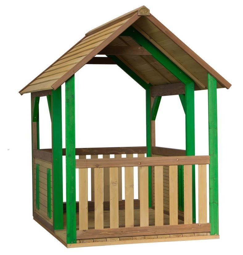 """Casetta per Bambini in Legno di Cedro """"Forest"""" con Veranda di AXI"""