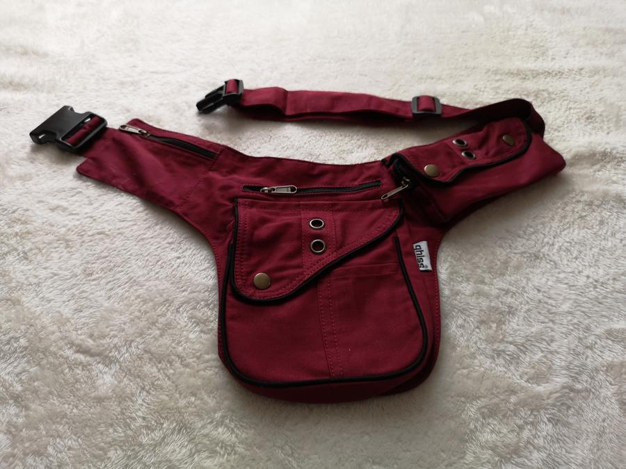 "Hip Bag  ""ROME"" red"