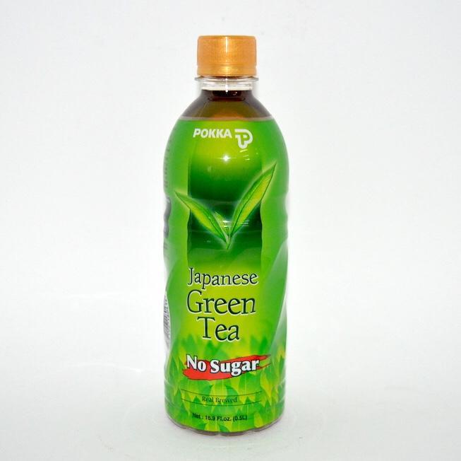 POKKA JAP. GREEN TEA PET 500ML