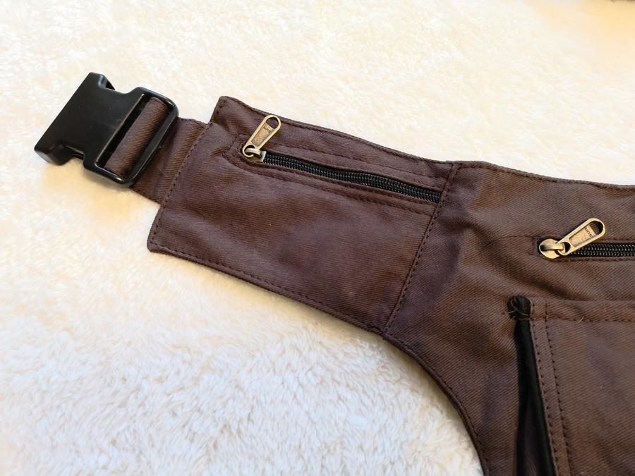 "Hip Bag ""ROME"" brown"