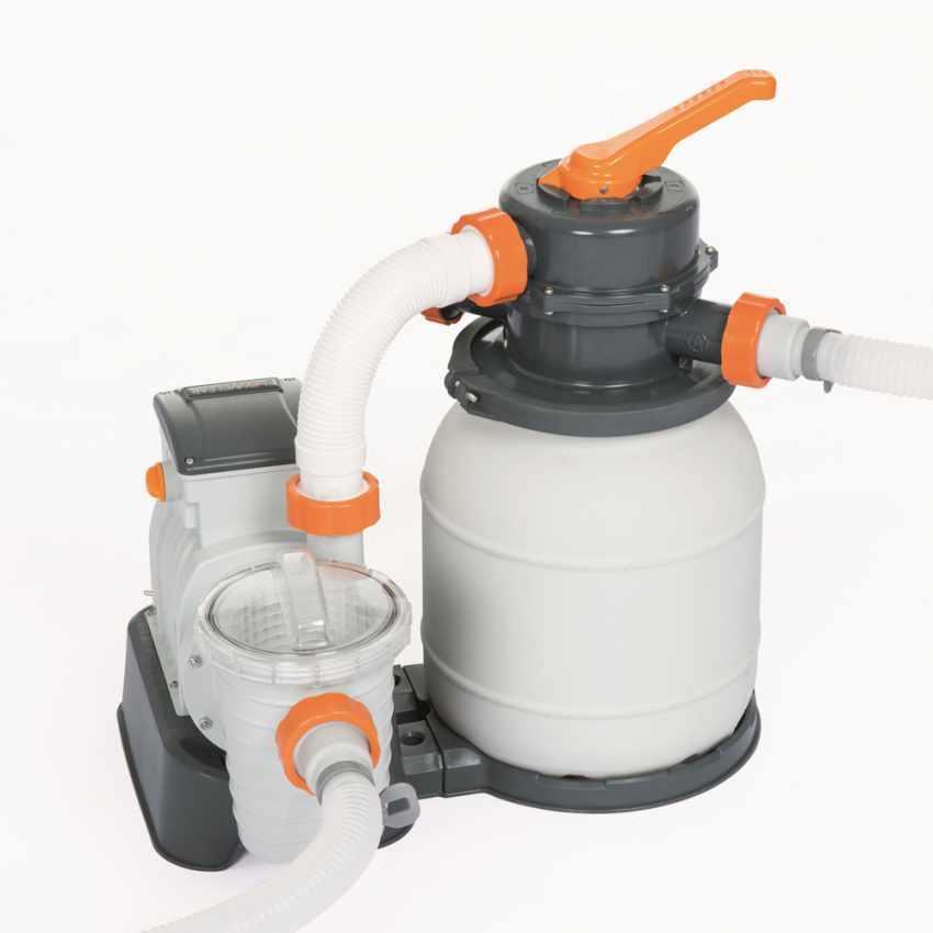 Pompa a sabbia per piscine Filtro a Sabbia da 3.785 Lt/H. Bestway 58495