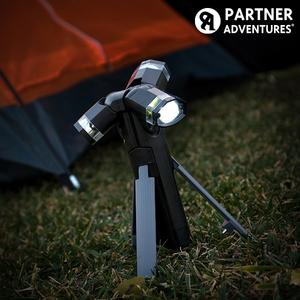 TORCIA LED 3 IN 1 CON TREPPIEDE TOTAL TORCH