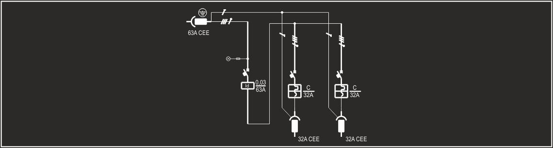 Schema Elettrico Quadro : Po cin 4 1f