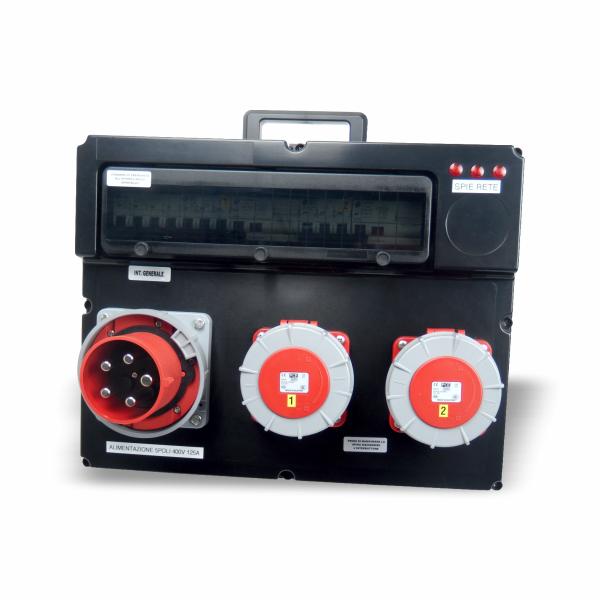 Quadro elettrico portatile trifase 125A