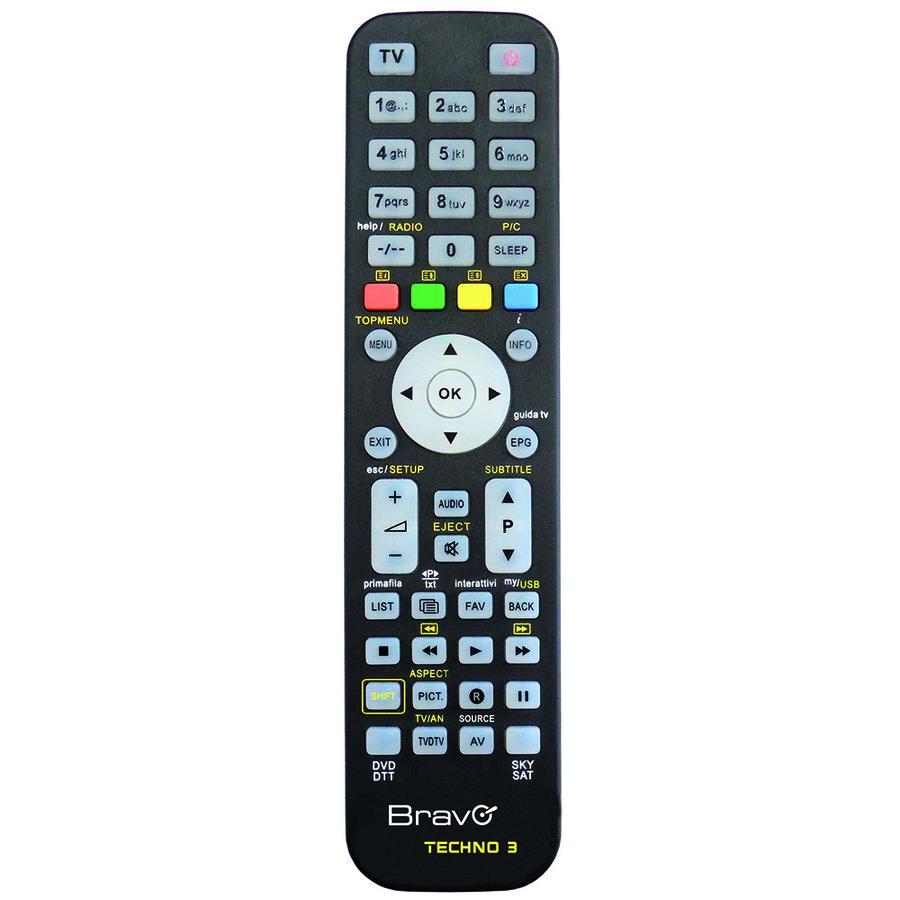 BRAVO Techno 3 telecomando UNIVERSALE 92602666