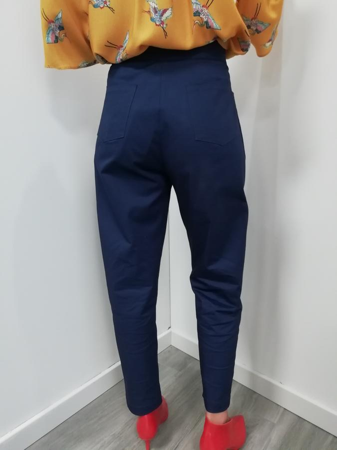 Straight pants blue L'Agobottega
