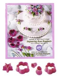 Set 5 stampi per rose wilton