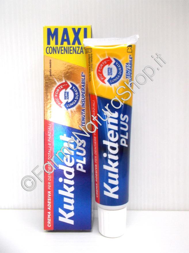 KUKIDENT® PLUS DOPPIA AZIONE Adesivo per dentiere 60 g