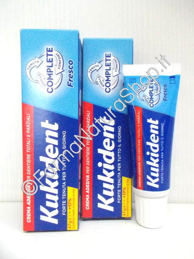 KUKIDENT®  FRESCO COMPLETE Adesivo per dentiere