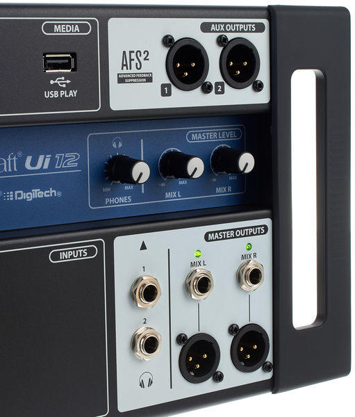 SOUNDCRAFT UI12 - Mixer Digitale Wi-Fi