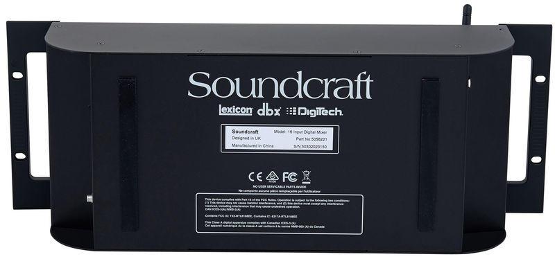 SOUNDCRAFT UI16 - Mixer Digitale Wi-Fi