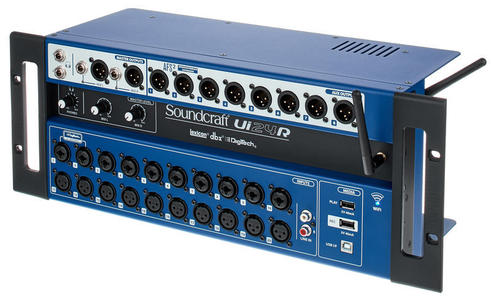 SOUNDCRAFT UI24R - Mixer Digitale Wi-Fi con registratore Multitraccia