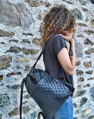 "Bag  ""WEAVING"" black"