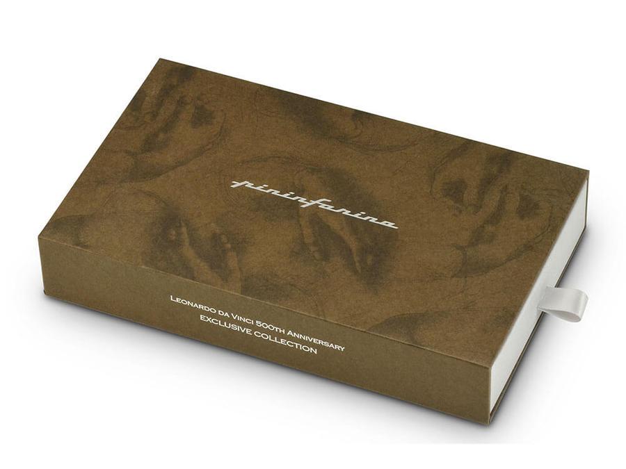 PININFARINA CAMBIANO BOX - EDIZIONE SPECIALE LEONARDO DA VINCI - PARURE SFERA + ETHERGRAF