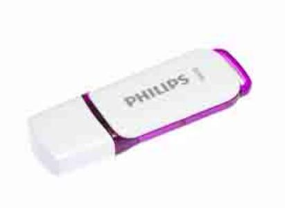 PHILIPS USB 2.0 64GB SNOW EDITION VIOLA
