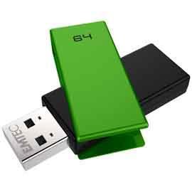 MEMORIA USB 2.0 C350 64GB VERDE