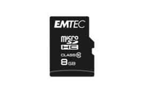 MicroSDHC 8GB Class10 Classic