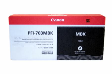 CARTUCCIA CANON PFI-703MBK NERO MATTE 700ml