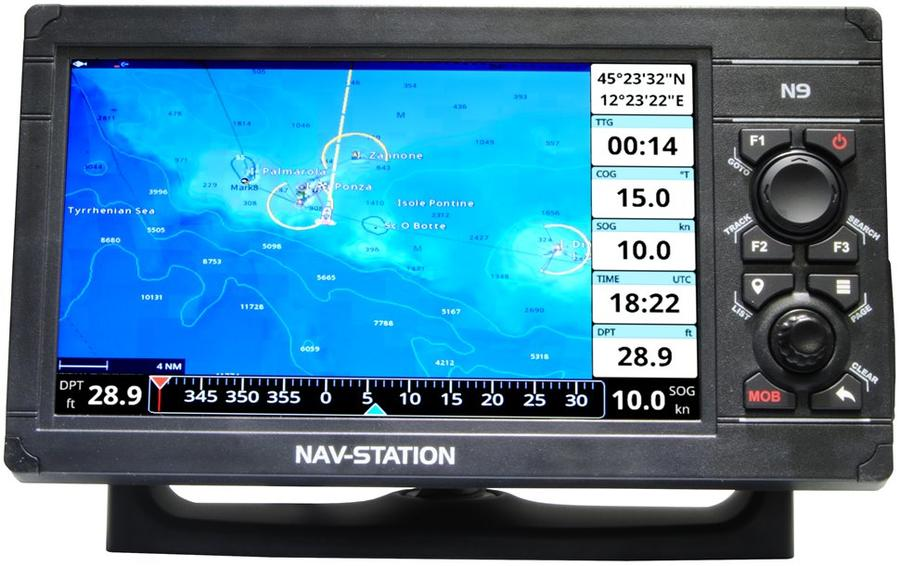 GPS marino Nav-Station N9 funzioni WiFi e Cloud Package - Offerta di Mondo Nautica  24