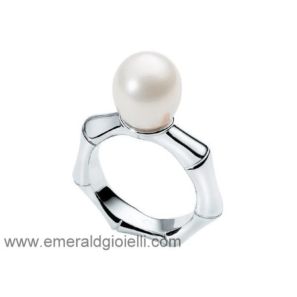 0P06A  Anello con perla Morellato