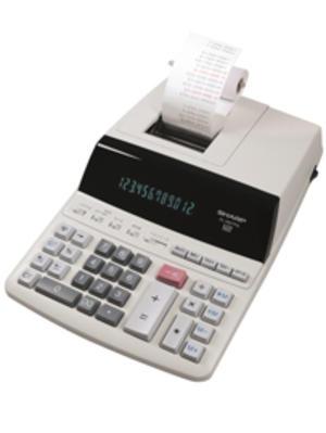 Calcolatrice scrivente EL 2607PGYSE, 12 cifre, 2 colori di stampa, alim. a rete