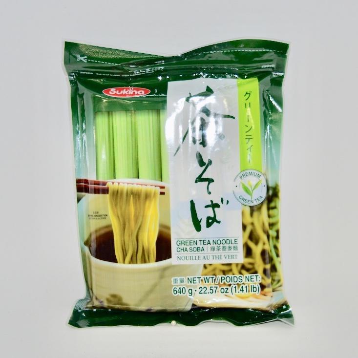 SUKINA GREEN TEA NOODLE 640GR