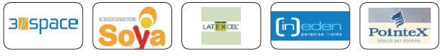 Materasso in Lattice Mod. Nuvola a Misura 70x190 Soya Sfoderabile Zone Differenziate - Ergorelax