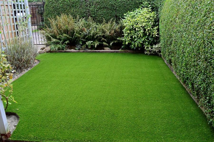 Prato verde sintetico mod. HOCKEY 2x25 mt erba finta colore verde supporto in lattice 52086